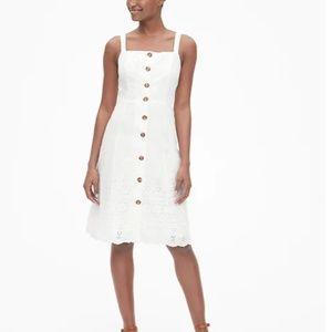Gap White Lace Dress